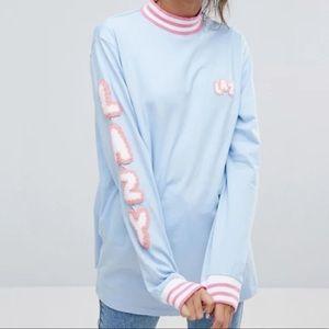 Lazy Oaf Letters Long Sleeve T-Shirt